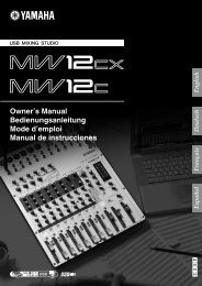 MW12CX/MW12C Owner's Manual - zZounds.com