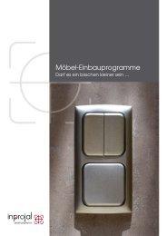 Möbel-Einbauprogramme