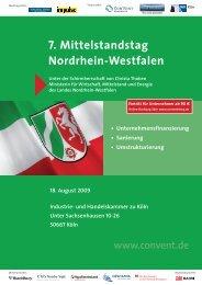7. Mittelstandstag Nordrhein-Westfalen - Convent
