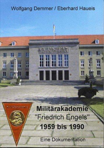 """Militärakademie """"Friedrich Engels"""" - DSS"""