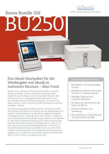 Sonos Bundle 250 - bei von Arx Media AG