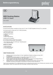HDD Docking Station USB 3.0 black - Wentronic