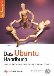 Das Ubuntu Handbuch - *ISBN 978-3-8273-2922 ... - Addison-Wesley