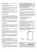Aufstellungs- und Bedienungsanleitung - Justus - Page 3