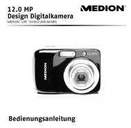 Bedienungsanleitung 12.0 MP Design Digitalkamera - medion