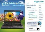 Listino Notebook ASUS Business - No bug informatica