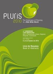 Consultar o Livro de Resumos - Pluris2010 - Universidade do Minho