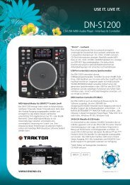 DN-S1200 - D&M Professional Europe