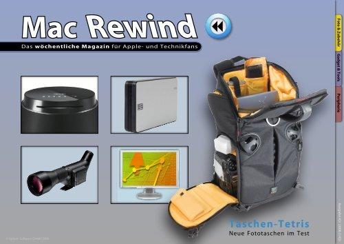 Mac Rewind - Issue 43/2008 (142) - MacTechNews.de - Mac Rewind