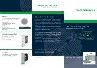 FG-ELEKTRILNIK - FG-Elektronik Soundsystems