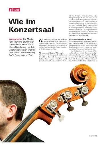 Stiftung Warentest - 2010-01 - Lautsprecher.pdf - Ohost.de