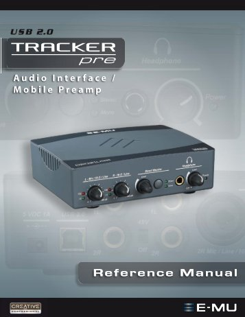 Audio Interface / Mobile Preamp - zZounds.com