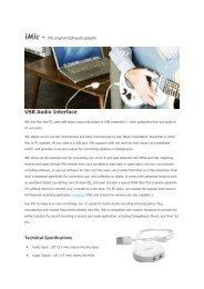 USB Audio Interface - Farnell