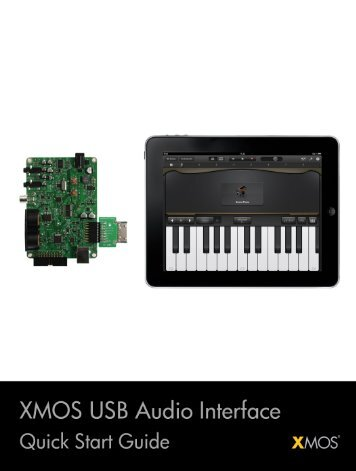 XMOS USB Audio Interface Quick Start Guide
