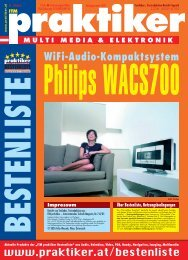 Philips WACS700: WiFi-Audio-Kompaktsystem - ITM ... - praktiker.at
