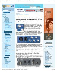PreSonus AudioBox USB Audio Interface Reviewed By Guitarist ...
