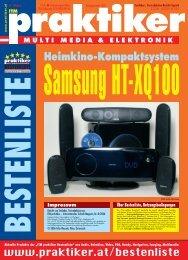 Samsung HT-XQ100: Heimkino-Kompaktsystem - ITM praktiker ...