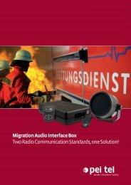 Migration Audio Interface Box - pei tel Communications GmbH