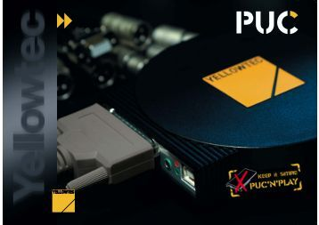 PUC - Professional USB Audio Interface Brochure - RTI Broadcast