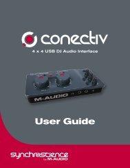 Conectiv User Guide - M-Audio