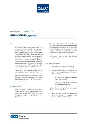 Erp-Kmu-Programm - Klima