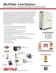 LinkStation™ Pro Quad - Buffalo Technology