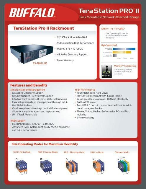 TeraStation Pro II Rackmount - Buffalo Technology