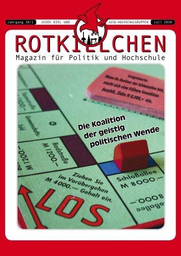 Rotkielchen – 38 – 1 Juli 2010 - Jusos Kiel