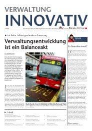 InnOVatIV - Führungsforum Innovative Verwaltung (FIV)