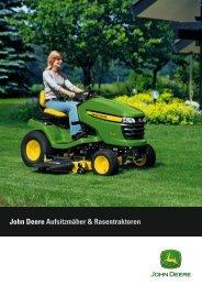John Deere Aufsitzmäher & Rasentraktoren