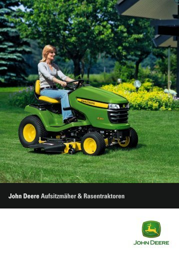 John Deere Aufsitzmäher & Rasentraktoren