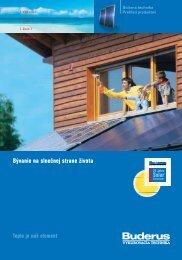 solárne kolektory - vavrotherm