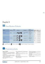 Kapitel 2 Gas/Boden-Pakete Produktvorteile - Buderus