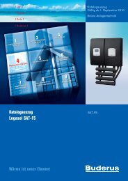 Katalogauszug Logasol SAT-FS - Buderus