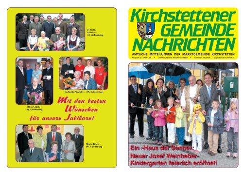 Verein der Freunde Totzenbachs - Marktgemeinde Kirchstetten