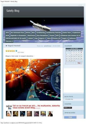 Nagra3 Hacked! « Satelly Blog