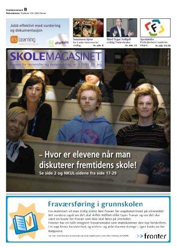 Skolemagasinet nr. 3 - 2009