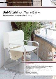 Sat-Stuhl von TechniSat –