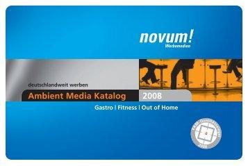 preisliste 2008 - Novum!