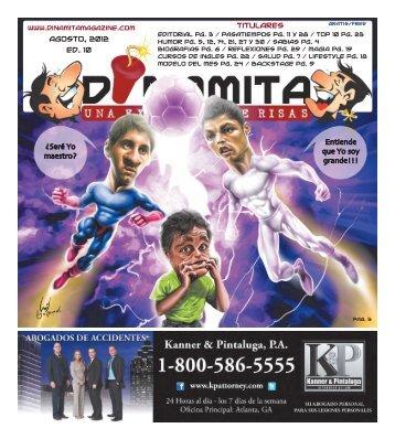 latina que nunca! 965lamega.com - Dinamita Magazine