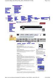 TechniSat Digital - Das Original - Fischer HiFi AG