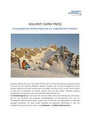 2 Dolomiti Super PREIS - Dolomiti Superski