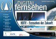HDTV – Fernsehen der Zukunft - Digitalfernsehen