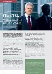 ITandTEL wirft sich in neue Schale - It & tel