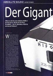 Der Giga - Maxxsonics Car Audio