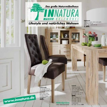 Wildeiche massiv - INNATURA Massivholzmöbel GmbH