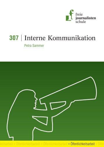 Interne Kommunikation - Freie Journalistenschule