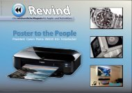 Poster to the People - Mac Rewind