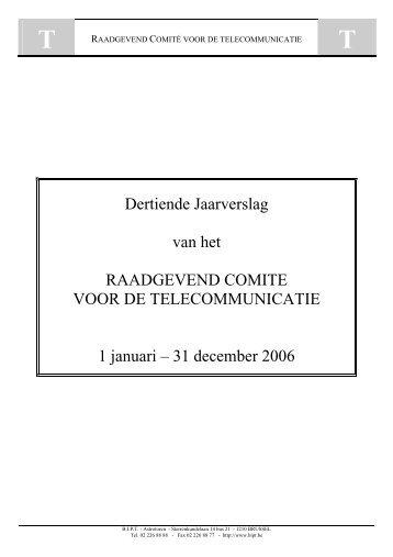Dertiende jaarverslag van het Raadgevend Comité