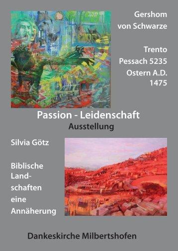 Broschüre zum Bilderzyklus - Gershom von Schwarze